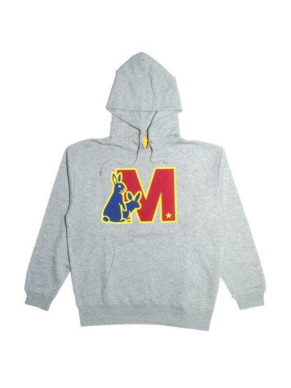 【M10周年記念コラボ】sweat hoodie (M×FR2) / heather/
