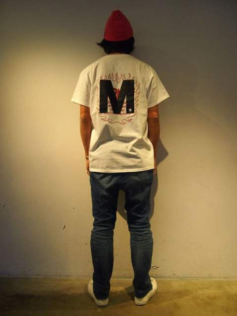 crew neck t-shirts (HAWGHOLIC×M)