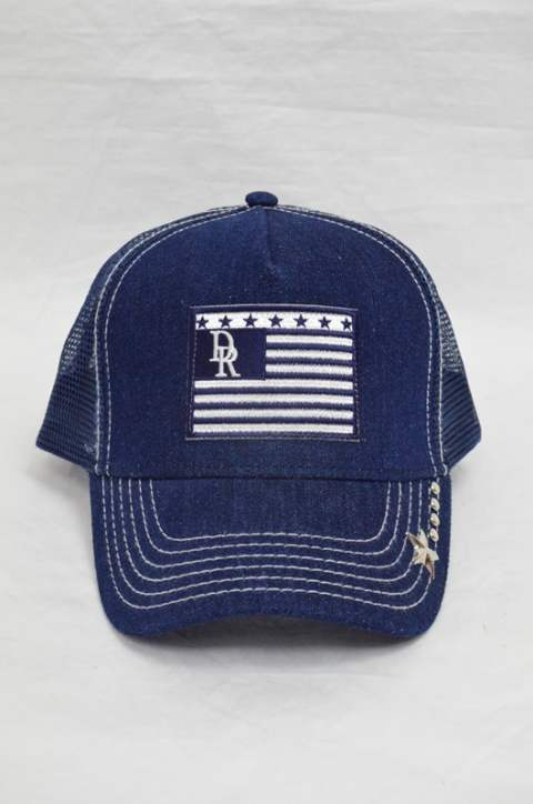 Vintage Denim RESOUND Flag Cap