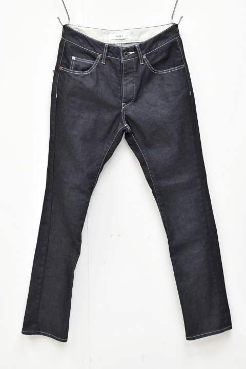 tight easy denim trousers (11oz supima cotton stretch denim)