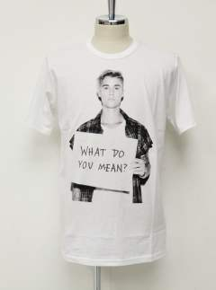 正規公認Justin Bieber T-Shirt WHAT  DO YOU MEAN?