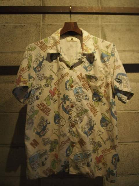endless surfer pattern aloha shirts (M×okitsu surfboards×Mie ishii)