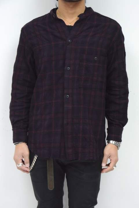 Shadow Check Flannel Shirt