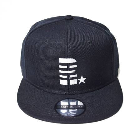 snap back cap (R☆/ブラック)
