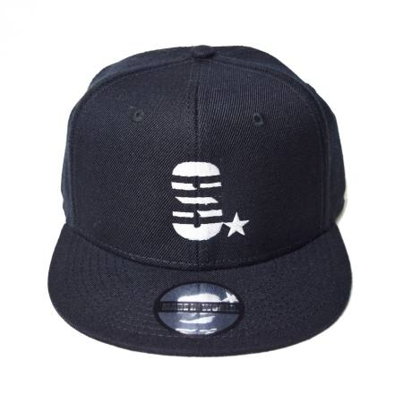 Snap back cap (S☆/ブラック)