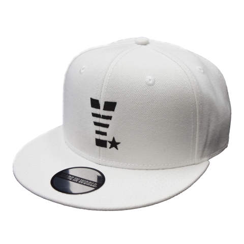 snap back cap (Y☆/ホワイト)