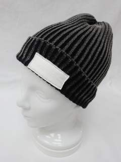 RC-BASIC-KNIT CAP4 / GREY