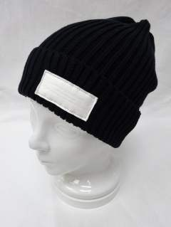 RC-BASIC-KNIT CAP4 / BLACK