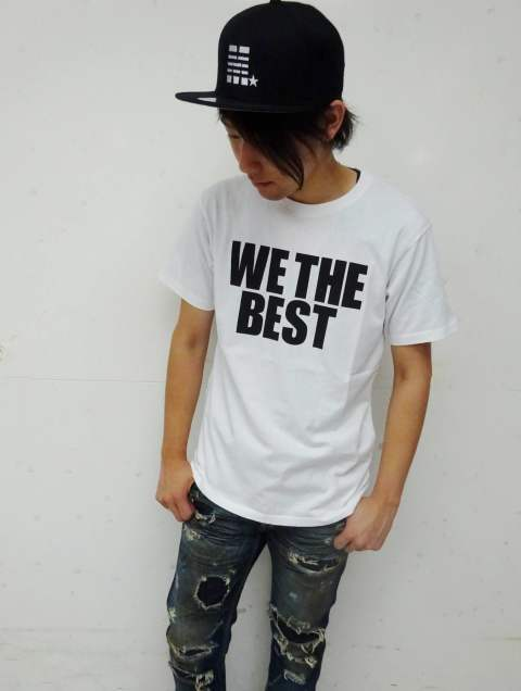 M×Marbles BD Jersey T-Shirt #WE THE BEST