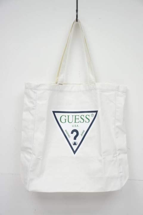 [GUESS ORIGINALS] denim tote bag