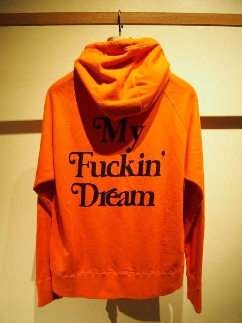 washed pullover parka (My Fuckin' Dream / 17AW) /orange