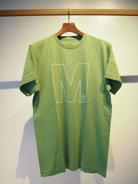 crew neck t-shirts(frame M)/green
