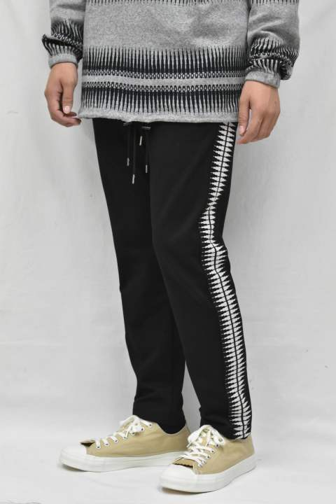 SPINE TRACK TROUSERS / BK(IV)