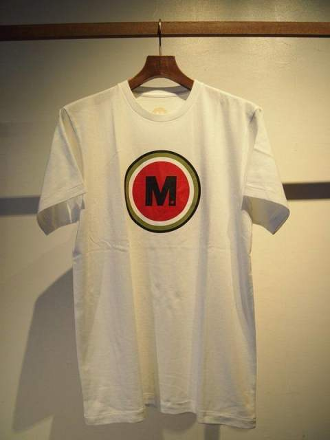 crew neck t-shirts(lucky M)/white