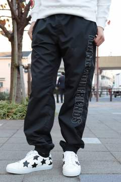 17AW-MSH002 /M nylon buggy pants/black