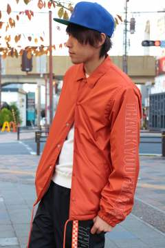 17AW-MSH002 /M nylon boa coaches jacket/orange