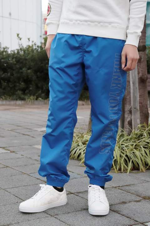 17AW-MSH002 /M nylon buggy pants/blue