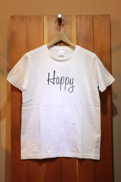 【Good Paris】HAPPY T-SHIRT/WHITE