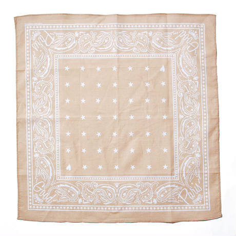 【Good Paris】 BANDANA/BEIGE