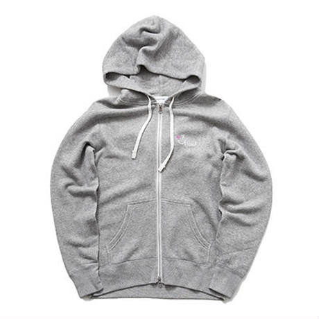 【Good Paris】SMILE GOOD ZIP UP PARKA /GRAY