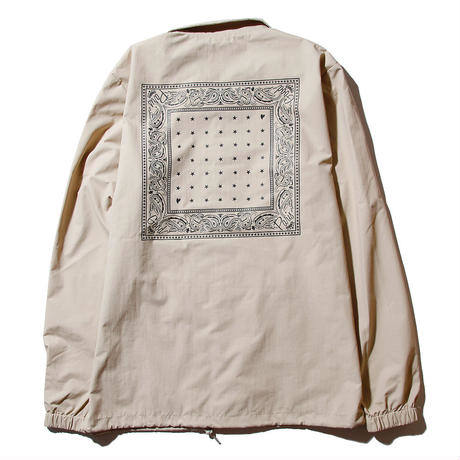 【Good Paris】BANDANA COACH JACKET /BEIGE