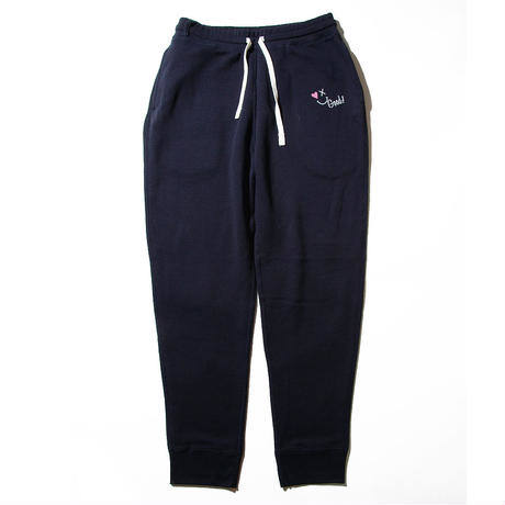 【Good Paris】SMILE GOOD SWEAT PANTS /NAVY