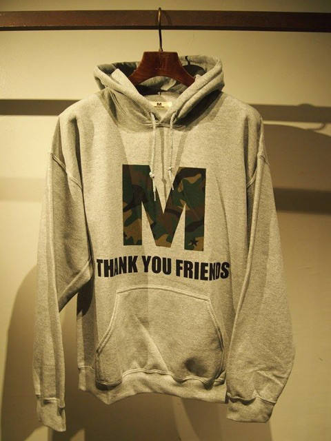 pullover hood parka(M  THANK YOU FRIENDS)