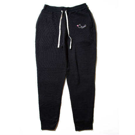 【Good Paris】SMILE GOOD SWEAT PANTS /BLACK