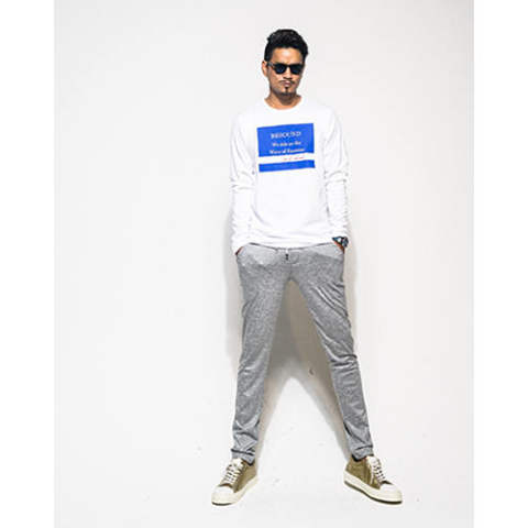 WAVE LONG T SHIRTS WHBLUE RC7-T-003