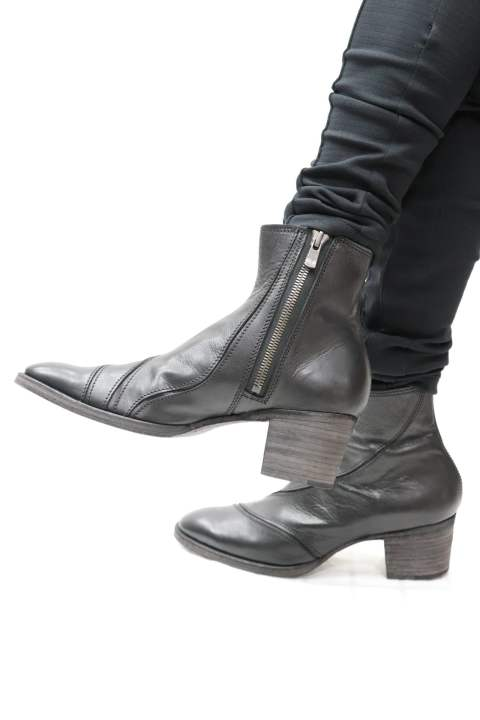 BULLET(Calf Leather Bullet Boots)