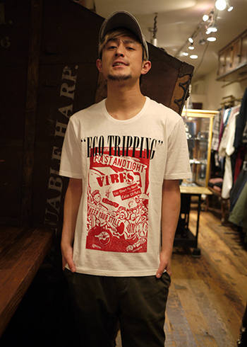 "【EGO TRIPPING×Jose(TOTALFAT)】Jose ""LOGO"" TRIPPING TEE"