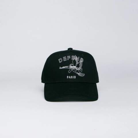 【DEFEND PARIS】 CAP COLOMBE/BLACK