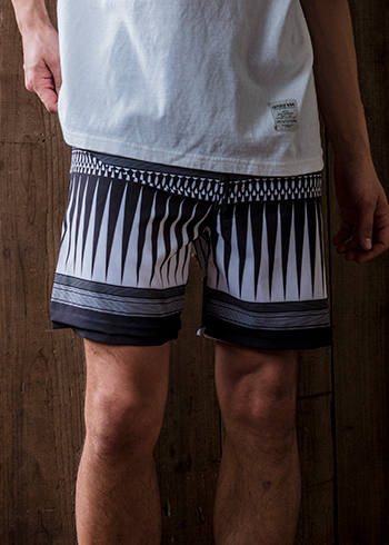 【EGO TRIPPING】 ARROWHEAD SURF PANTS 693058 EGO TRIPPING