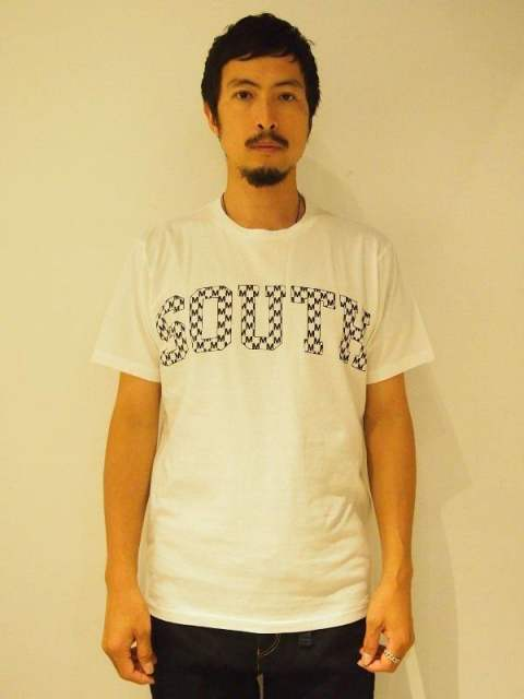【M】crew neck t-shirts(south)/white