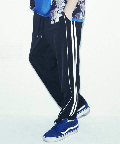【IROQUOIS】 E/2WAY TRACK PANTS