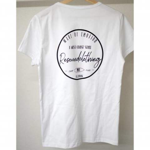 CLUB TEE WHITE RC8-T-006