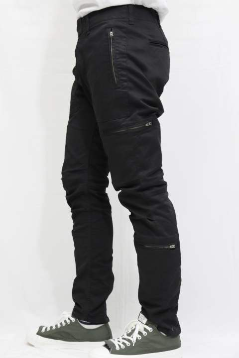 【EGO TRIPPING】 PARACHUTE TROUSERS/BLACK