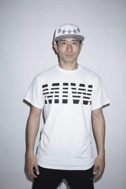 【MADE IN WORLD☆&CO】 crew neck tee(MIW)/ white