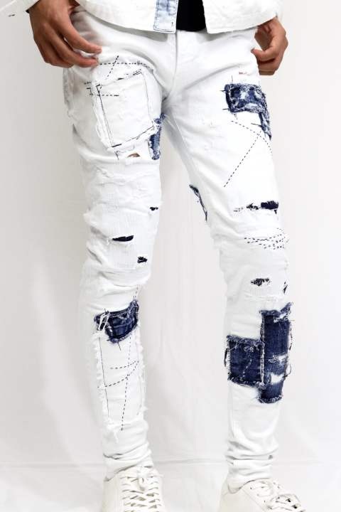 【RESOUND CLOTHING】 LOAD DENIM/WH REMAKE