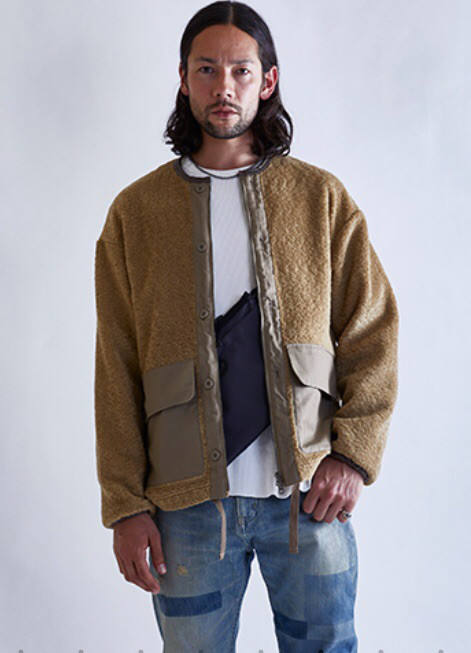 【EGO TRIPPING】SHEEPBOA COVERALL/BEIGE