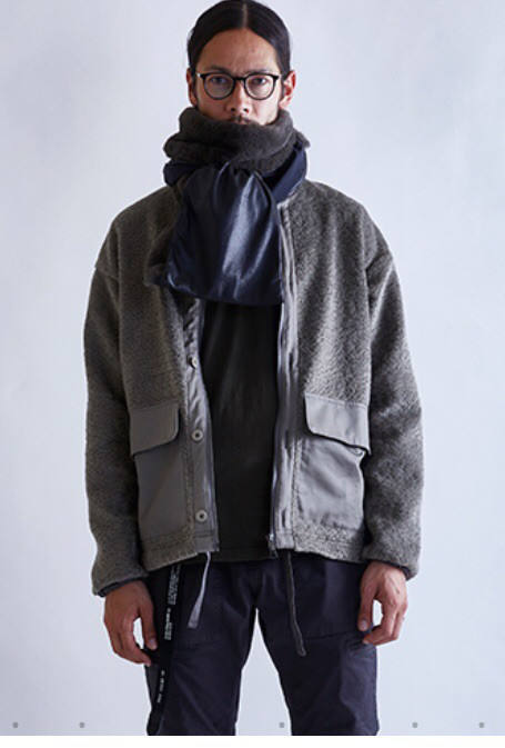 【EGO TRIPPING】SHEEPBOA COVERALL/GRAY