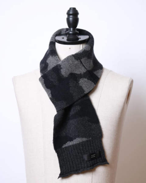 【wjk】powder camo muffler/d.gray