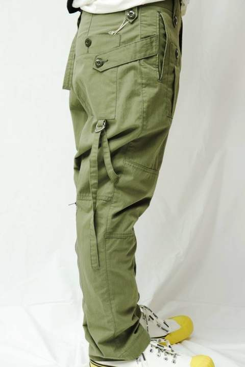 【EGO TRIPPING】 UK MILITARY TROUSERS PANTS/KHAKI