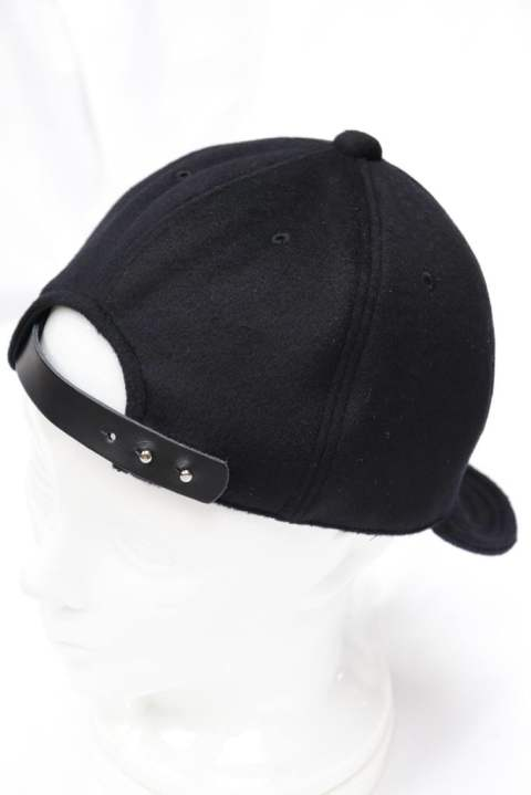 【EGO TRIPPING】CASHMERE WOOL CYCLINGCAP/BLACK