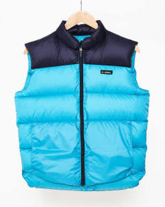 【GERRY】HIGH DENSITY SWITCHING DOWN VEST/SKYBLUE