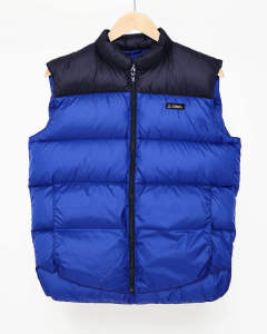 【GERRY】HIGH DENSITY SWITCHING DOWN VEST/BLUE