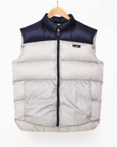 【GERRY】HIGH DENSITY SWITCHING DOWN VEST/GRAY