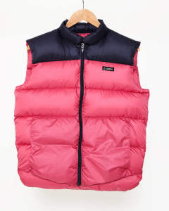 【GERRY】HIGH DENSITY SWITCHING DOWN VEST/PINK