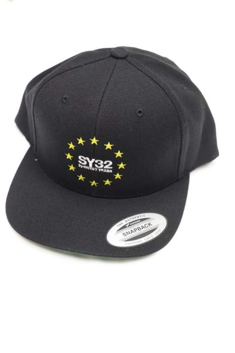 【SY32】WORLD STAR SNAP BACK CAP/BLACK