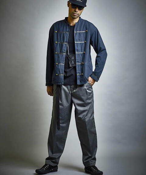 【EGO TRIPPING】MARCHING COVERALL /NAVY